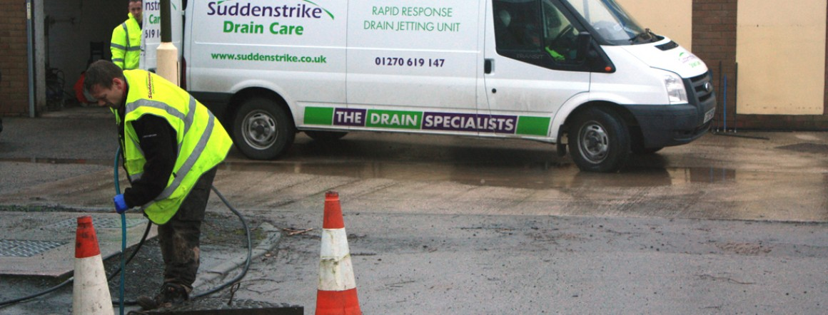 Drain Cleaning for Cheshire