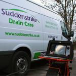 Drain care van with CCTV drain camera